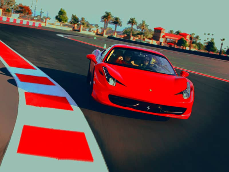 Conducir un Ferrari en madrid