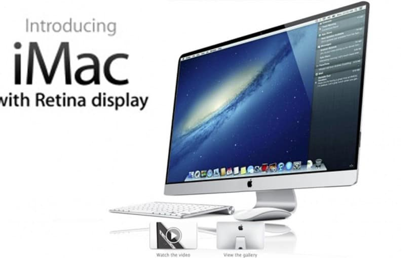 El espectacular imac de apple: casi que incomparable