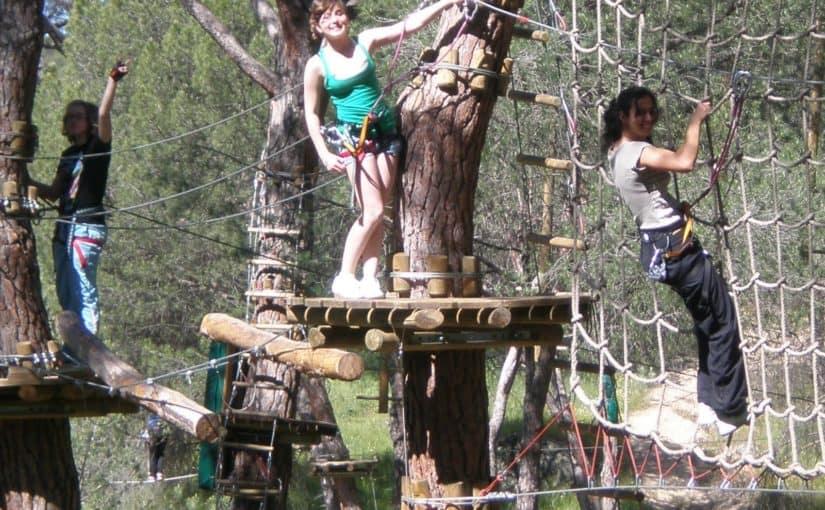 Amazonia Cercedilla un parque que combina diversión y formación