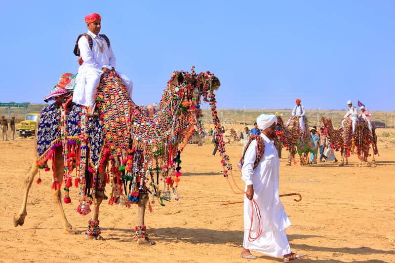 Festival del desierto de Jaisalmer, india