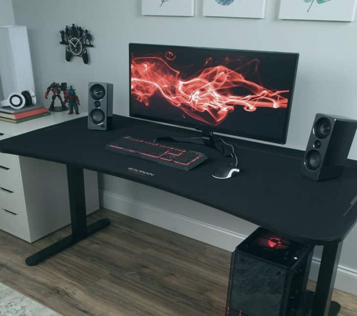 Comodidad con las mesas gaming